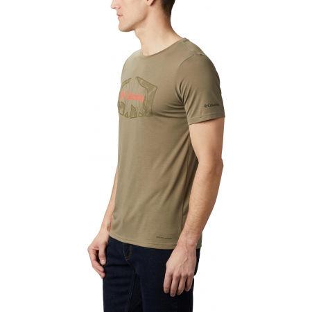 Pánske tričko - Columbia TERRA VALE™ II SS TEE - 4