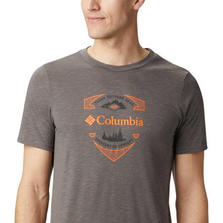Herrenshirt - Columbia NELSON POINT GRAPHIC SHORT SLEEVE TEE - 4
