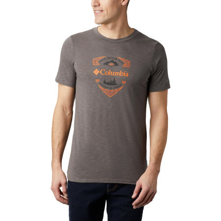 Columbia NELSON POINT GRAPHIC SHORT SLEEVE TEE - Herrenshirt
