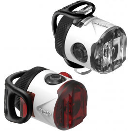 Lezyne FEMTO USB DRIVE - Sada svetiel na bicykel