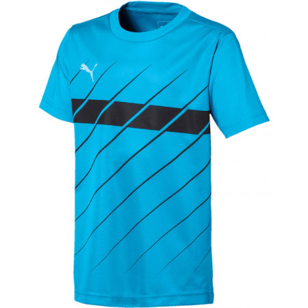 Chlapčenské tričko - Puma FTBL PLAY GRAPHIC SHIRT JR