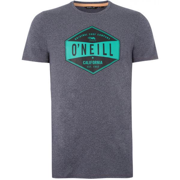 O'Neill PM SURF COMPANY HYBRID T-SHIRT šedá XS - Pánské tričko