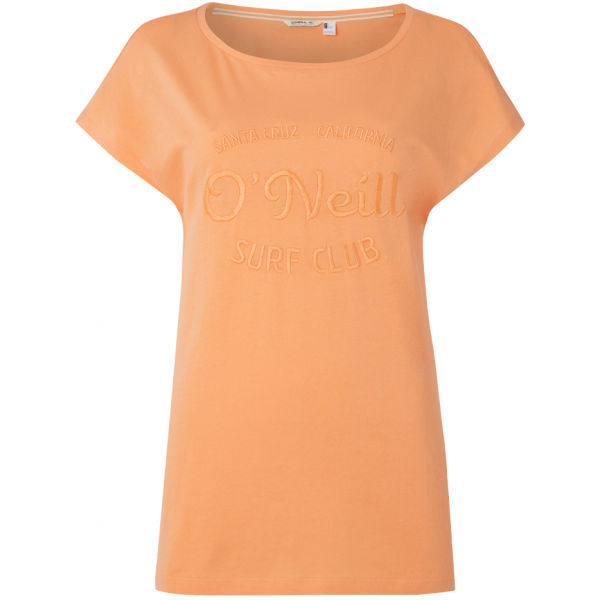 O'Neill LW ONEILL T-SHIRT oranžová S - Dámské tričko