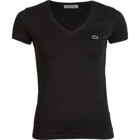 Women's T-shirt - Lacoste V NECK SS T-SHIRT - 1