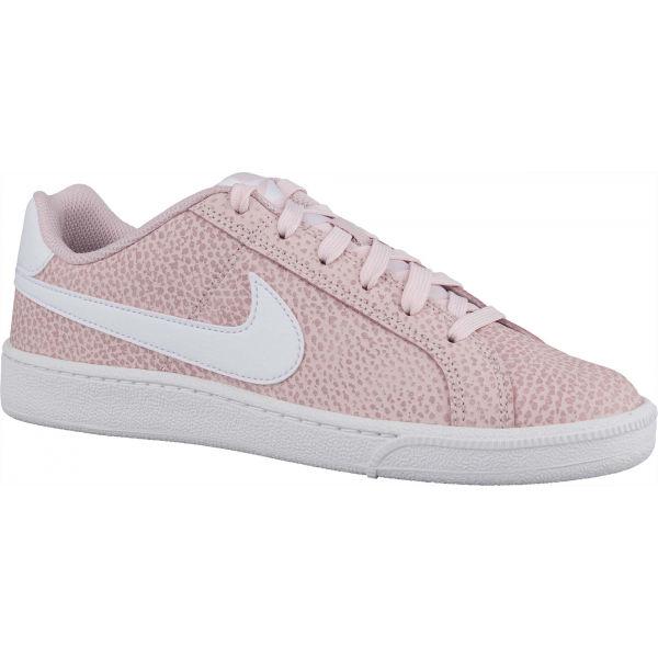 Nike COURT ROYALE PREMIUM ružová 8 - Dámska obuv na voľný čas