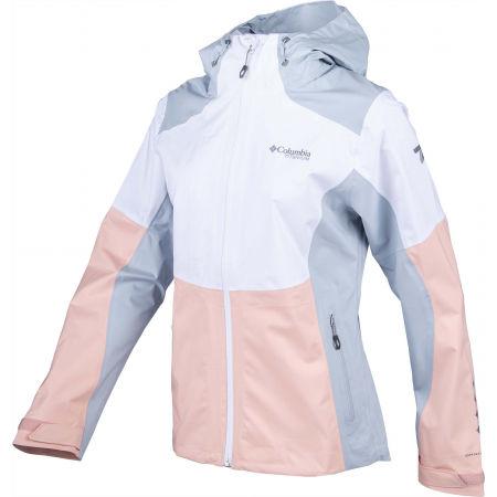 Women's jacket - Columbia TITAN PASS 2.5L SHELL - 2