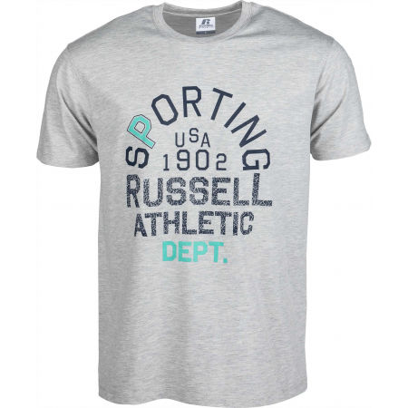 Мъжка тениска - Russell Athletic SPORTING S/S CREWNECK TEE SHIRT - 1