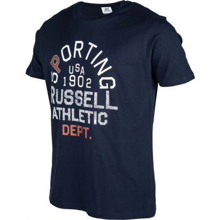 Pánske tričko - Russell Athletic SPORTING S/S CREWNECK TEE SHIRT - 2