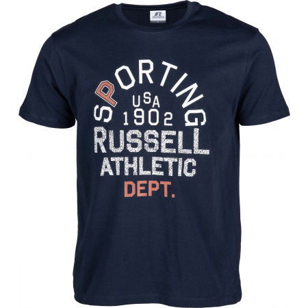 Russell Athletic SPORTING S/S CREWNECK TEE SHIRT - Мъжка тениска