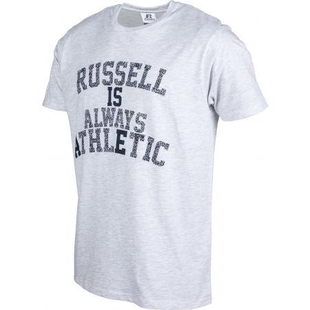Мъжка тениска - Russell Athletic RA MOTTO S/S CREWNECK TEE SHIRT - 2
