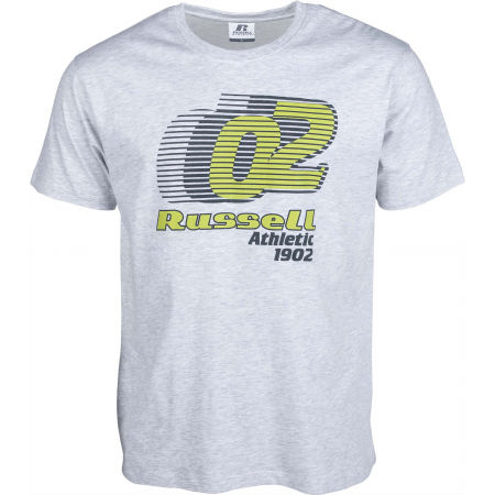 Russell Athletic SPEED GRAPHIC S/S CREWNECK TEE SHIRT - Pánske tričko