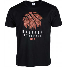 Russell Athletic B BALL SKY LINE S/S CREWNECK TEE SHIRT