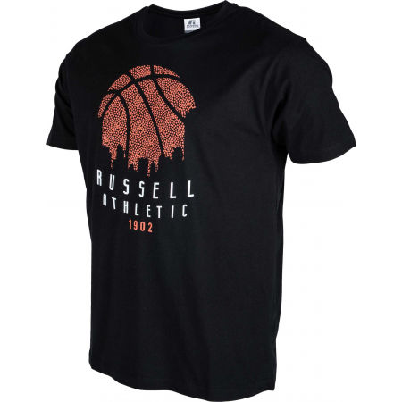 Pánske tričko - Russell Athletic B BALL SKY LINE S/S CREWNECK TEE SHIRT - 2