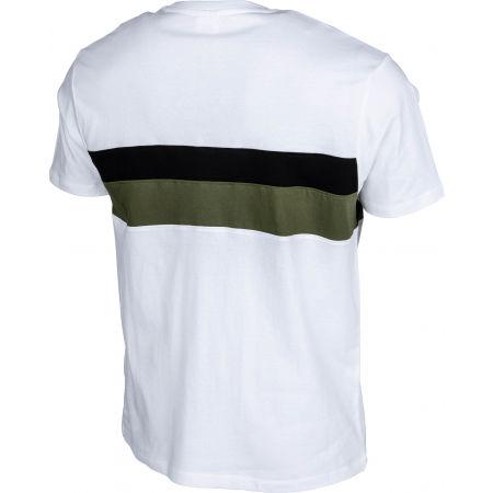 Pánske tričko - Russell Athletic STRIPED PANEL CREWNECK TEE SHIRT - 3