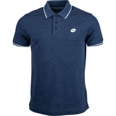 Мъжка поло тениска - Lotto POLO ELBA MEL PQ - 1