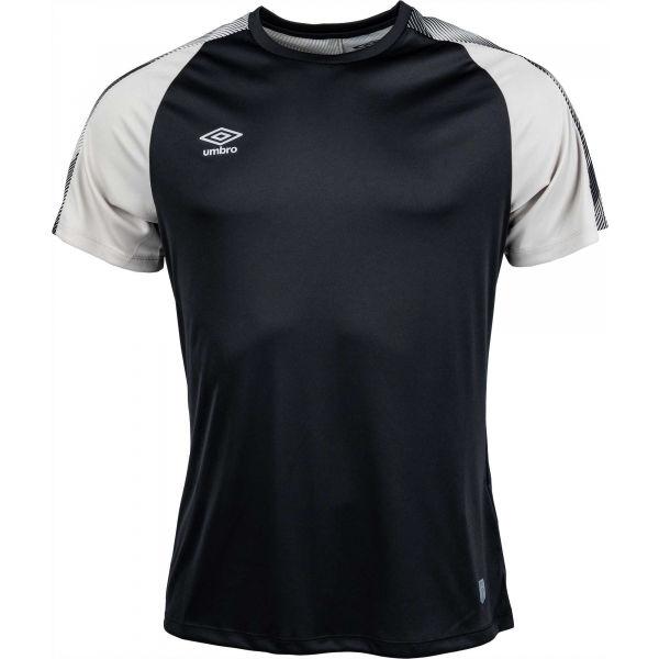 Umbro TRAINING JERSEY černá L - Pánské sportovní triko