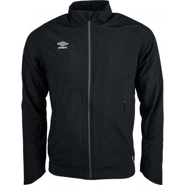 Umbro TRAINING WOVEN JACKET černá M - Pánská sportovní bunda