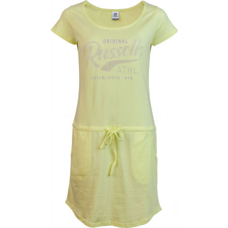 Russell Athletic WOMAN YELLOW DRESS - Women's Dress - Russell Athletic