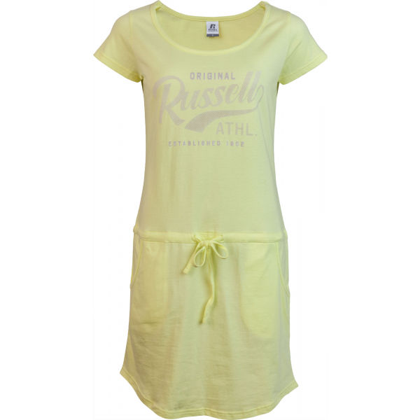 Russell Athletic ŠATY DÁMSKE ŽLTÉ - Dámske šaty
