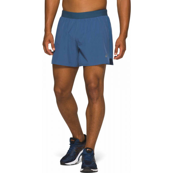 Asics ROAD 2-N-1 5IN SHORT modrá L - Pánske bežecké šortky