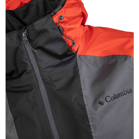 Pánska bunda - Columbia RAIN SCAPE JACKET - 4