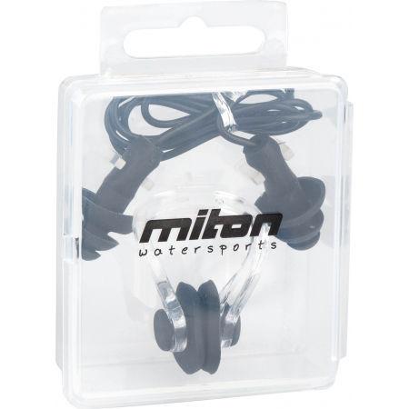 Ucpávka uší a nosní svorka - Miton EAR PLUG + NOSE CLIP SET - 2