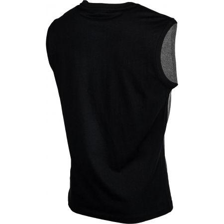 Pánske tričko bez rukávov - Lotto DINAMICO II TEE SL MEL CO - 3