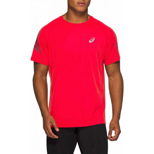 Asics SILVER ICON TOP červená XXL - Pánske bežecké tričko