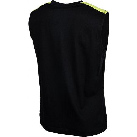 Koszulka bez rękawów męska - Lotto LOGO III TEE SL JS - 3