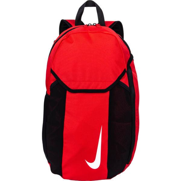 Nike ACADEMY TEAM BACKPACK červená  - Sportovní batoh