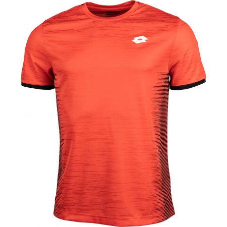 Pánske tenisové tričko - Lotto TOP TEN II TEE PRT PL - 1