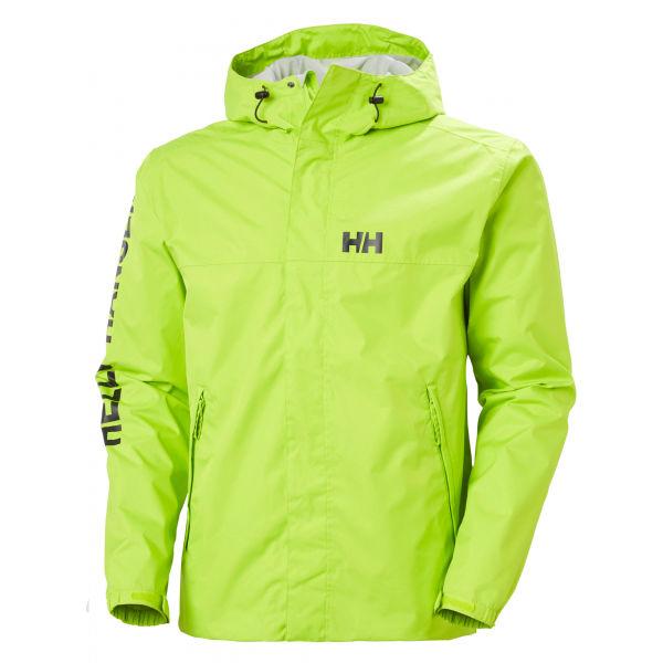 Helly Hansen ERVIK JACKET zelená 2XL - Pánská bunda