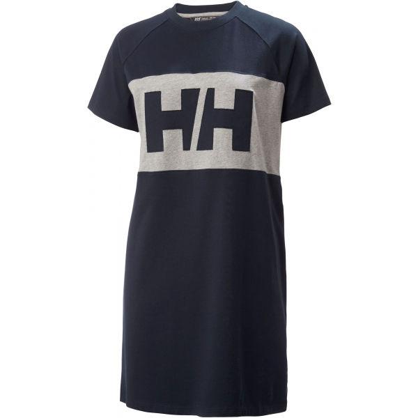 Helly Hansen ACTIVE T-SHIRT DRESS černá L - Dámské šaty