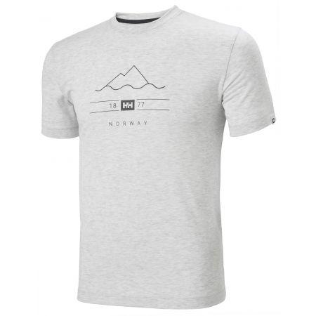 Helly Hansen SKOG GRAPHIC - Pánske tričko