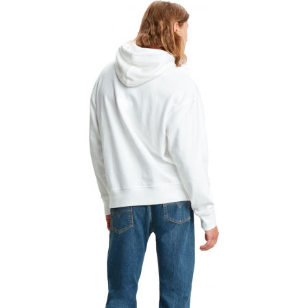 Pánská mikina - Levi's RELAXED GRAPHIC HOODIE - 2