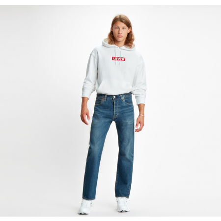 Pánská mikina - Levi's RELAXED GRAPHIC HOODIE - 4