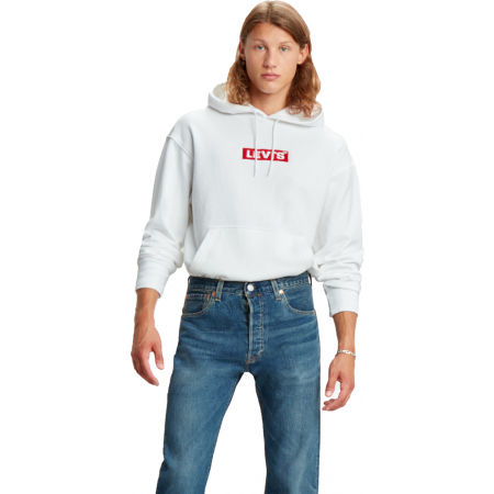 Pánská mikina - Levi's RELAXED GRAPHIC HOODIE - 3