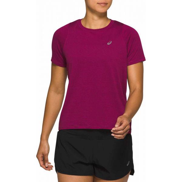 Asics TOKYO SS TOP fialová XS - Pánské běžecké triko