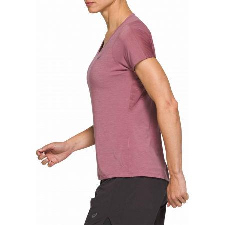 Дамска тениска за бягане - Asics V-NECK SS TOP - 2