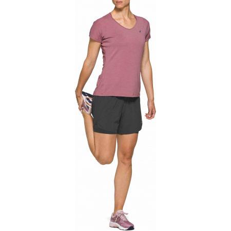 Дамска тениска за бягане - Asics V-NECK SS TOP - 3