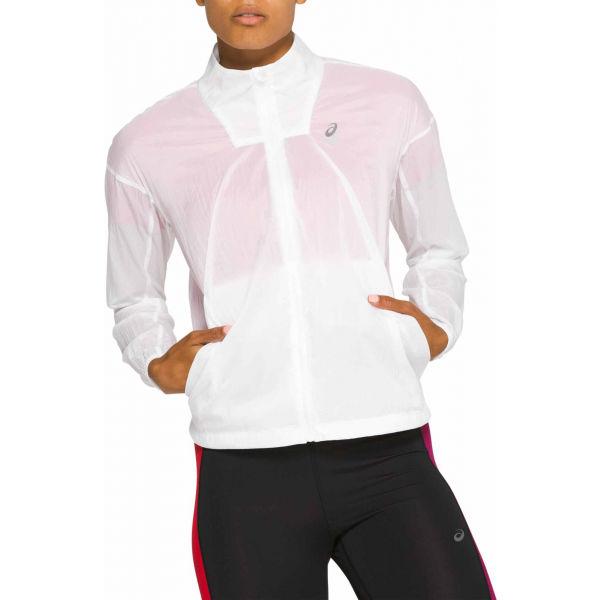 Asics TOKYO JACKET bílá L - Dámská běžecká bunda
