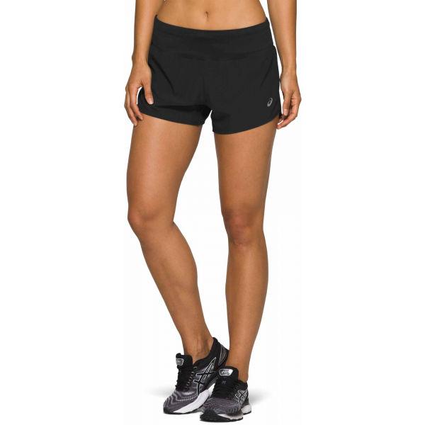 Asics ROAD 3.5IN SHORT černá XL - Dámské běžecké šortky