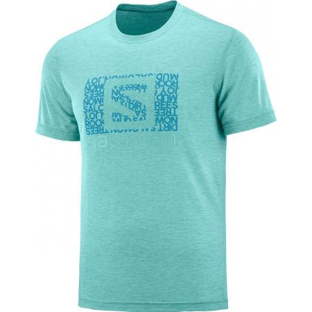 Pánské triko - Salomon EXPLORE GRAPHIC SS TEE M - 1