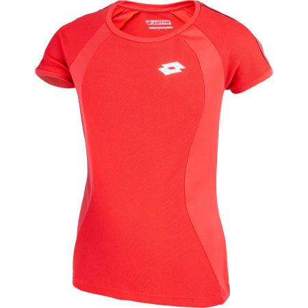 Dívčí tenisové triko - Lotto SQUADRA G TEE PL - 2