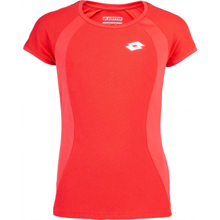Lotto SQUADRA G TEE PL - Dievčenské tenisové tričko