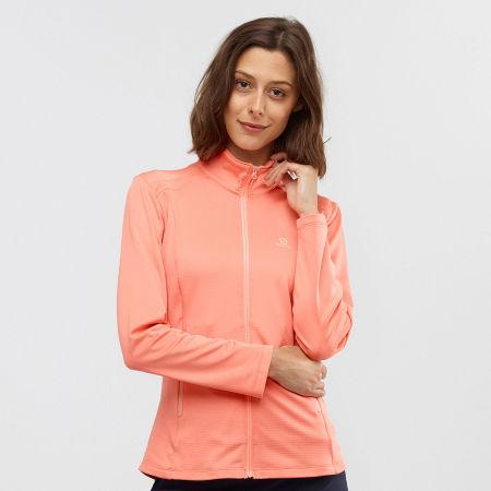 Women's jacket - Salomon DISCOVERY LT FZ W - 2
