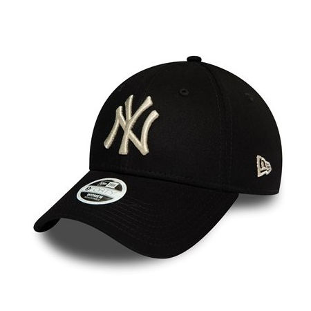 New Era 9FORTY METALLIC NEW YORK YANKEES - Șapcă pentru femei