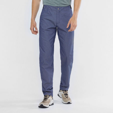 Men's pants - Salomon WAYFARER TAPERED DENIM PT M - 4