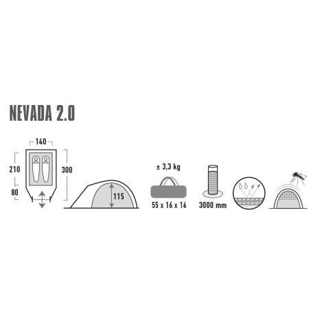 Outdoorový stan - High Peak NEVADA 2.0 - 10