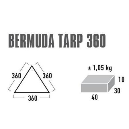 Party shelter - High Peak BERMUDA TARP 360 - 2